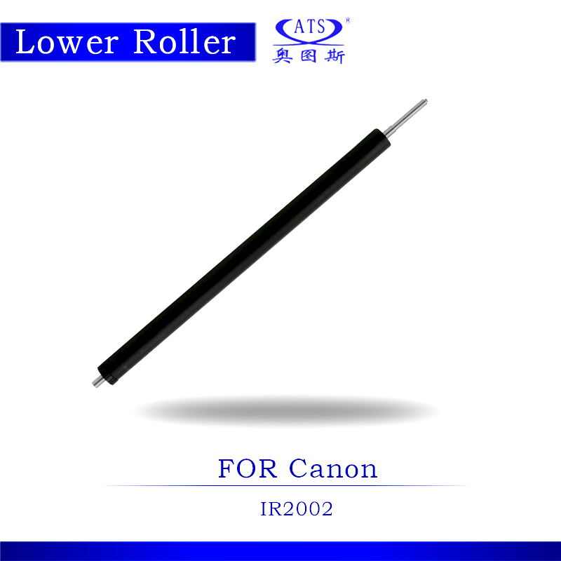 1PCS Photocopy Machine Lower Pressure Fuser Roller For Canon IR 2002 Copier Parts IR2002 new paper pick up roller for canon ir2525 ir2530 ir2520 ir2002 ir2202 fl3 1352 000 2 pcs per lot