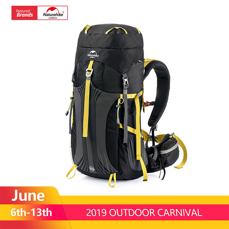 Naturehike 55L 65L Backpack Professional Hiking Bag with Suspension System NH16Y065-QNaturehike 55L 65L Backpack Professional Hiking Bag with Suspension System NH16Y065-Q