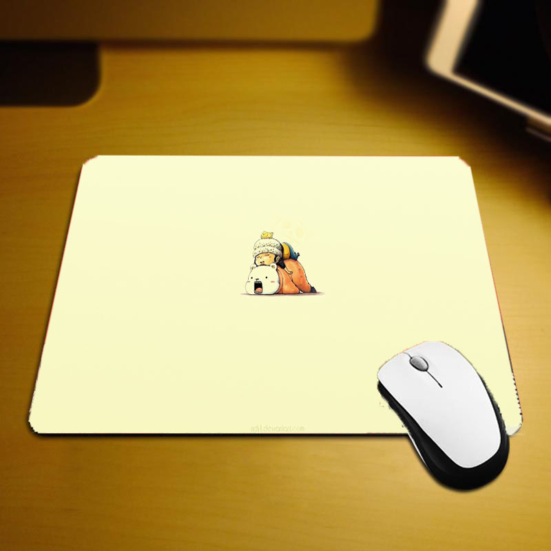 Mairuige Cute Lovely Pattern Onepiece Comic Mousepad Trafalgar Law Bepo Funny Pictures Printed Pc Computer Gaming Mouse Pads