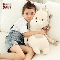 Candice guo! soft plush toy hug hug cushion cattle fox bear rabbit bunny long pillow kids girl lover birthday Christmas gift 1pc