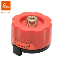 лучшая цена Fire maple Outdoor Camping Stove Head Gas Tank Bottle Adaptor Burner Connector Conversion Head FMS-701