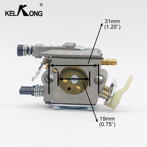 Image 2 - KELKONG Carburetor Fits Husqvarna 51 55 50 Replace Walbro WT 170 WT 223 Chainsaw 503281504 Carby Replaces Zama C15 51