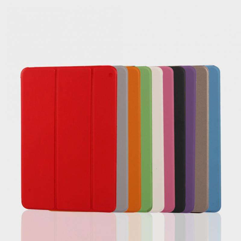 Simplism Series Wake Up Fold Stand Leather Pu Cover Case Leather Cover Protector For Ipad Mini 1 2 3 Retina For Sale