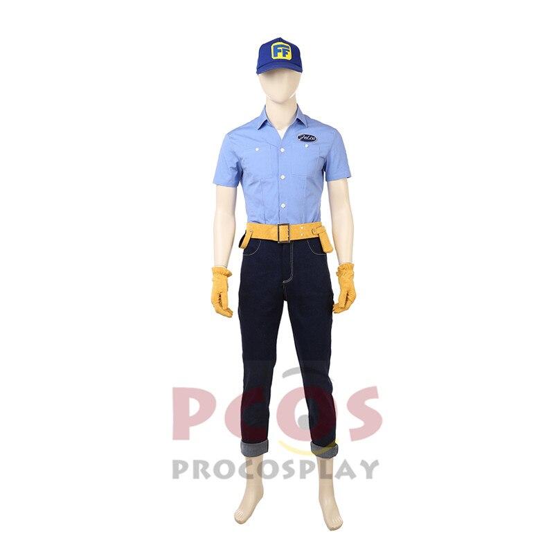Ralph Breaks the Internet: Wreck-It Ralph 2 Fix-It Felix cosplay costume mp004079