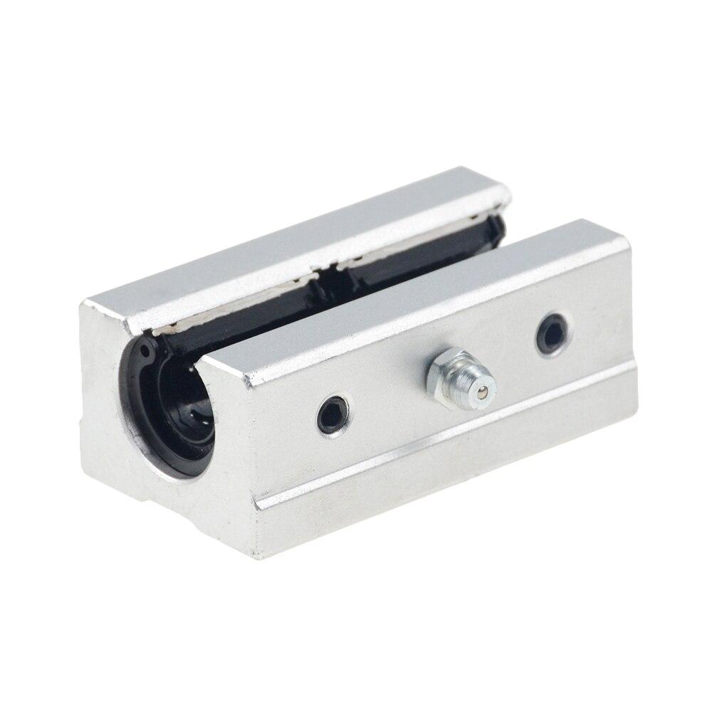 Free Shipping 2pcs/lot SBR16LUU 16mm Linear Ball Bearing Block CNC Router
