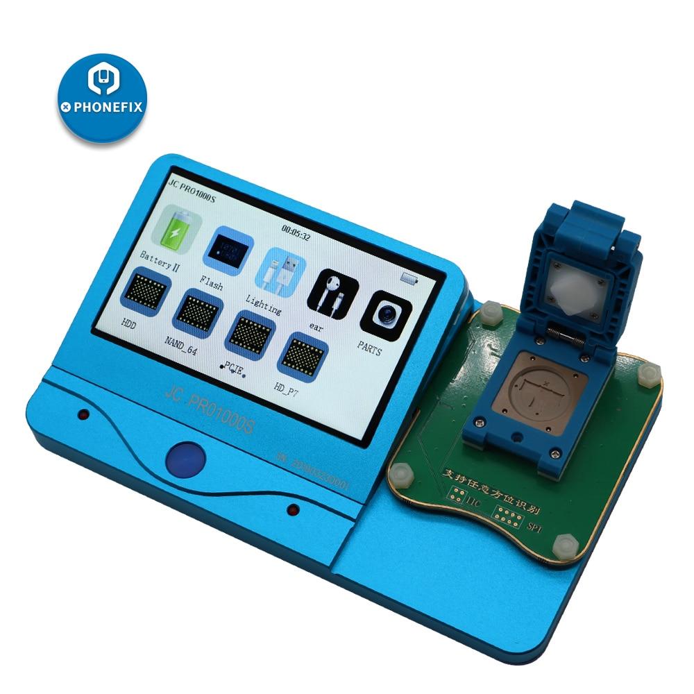 Jc pro1000s 데이터 케이블 헤드폰 테스터 모듈 eeprom ic 읽기 쓰기 도구 iphone 5 s 6 6 p 6 s 7 7 p 8 x 마더 보드 수리-에서전동 공구세트부터 도구 의 FIXPHONE Store