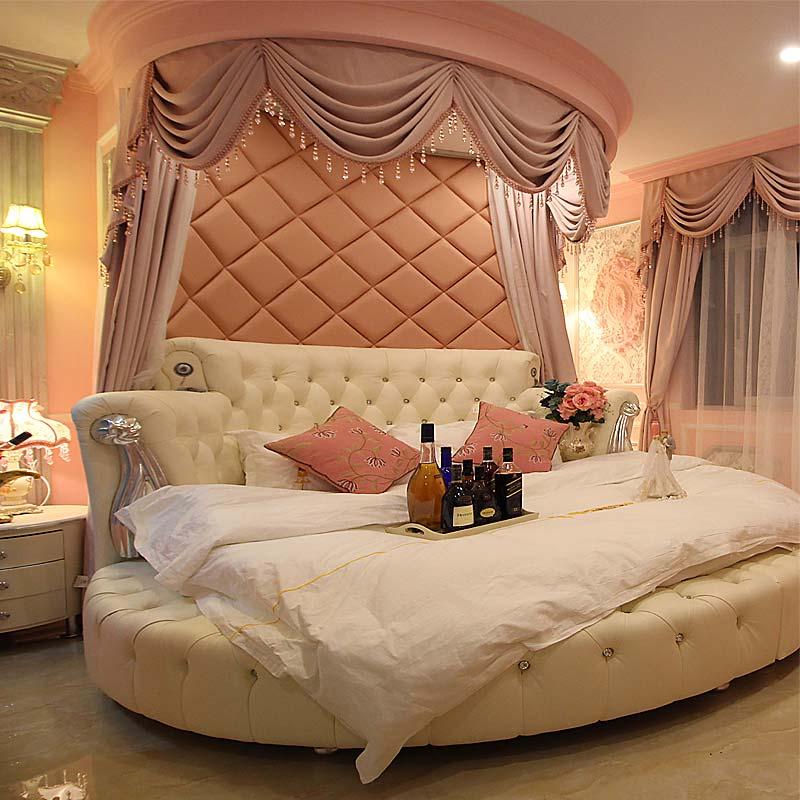 фото красивых кроватей круглых пошагово
