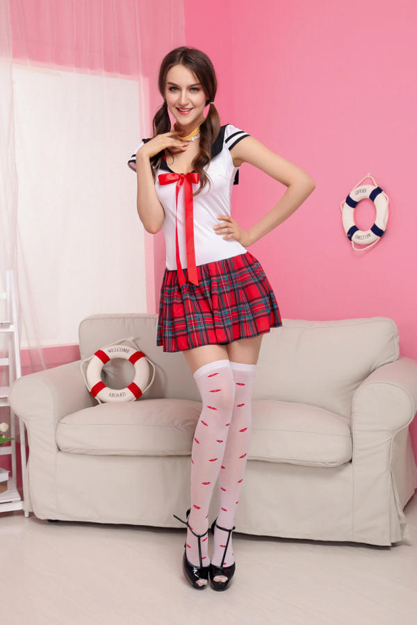 High Quality Classical Grid School Uniform Sexy Girl Students Cosplay Costume Pleated Skirt Lingerie Costume Eroticas Skirt On Aliexpress Com Alibaba