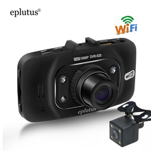 Eplutus Wifi CAR DVR Camera FHD 1080P Video Recorder Night Vision Dvrs Auto Dash Cam Dual Lens G-sensor Automotive dash Cams