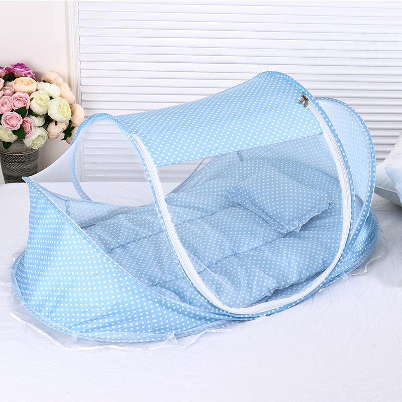 Portable Baby Bed Foldable With Mosquito Net Free Installation Baby Nest