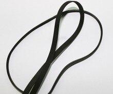лучшая цена 1Piece  Fold length:450mm Width:5mm Thickness:0.6mm Deck Audio Flat Belt Drive Dedicated Recorder Belt Crafts Belt