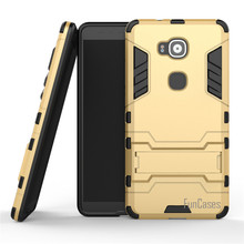 Per Huawei Ascend Mate 8 Caso 6.0 pollici Dual Layer Hybrid robusta Armatura Dura del PC + TPU 2 In 1 Antiurto Con Cavalletto copertura(China)