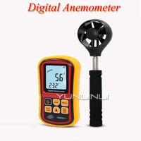 Verificador handheld da velocidade do vento do instrumento de medição da velocidade do vento digital alta precisão do volume do ar da velocidade do vento testador gm8901|Instrumentos de medição de velocidade|   -
