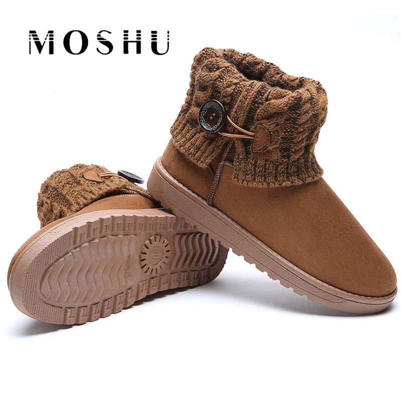 Fashion Women Winter Snow Boots Warm Girls Ankle Boots Australia Suede Ladies Shoes Zapatos Mujer