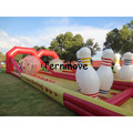 Inflatable Human Bowling Lane Game free shipping Giant Inflatable Bowling Set Game Outdoor Gaint Bowling Game