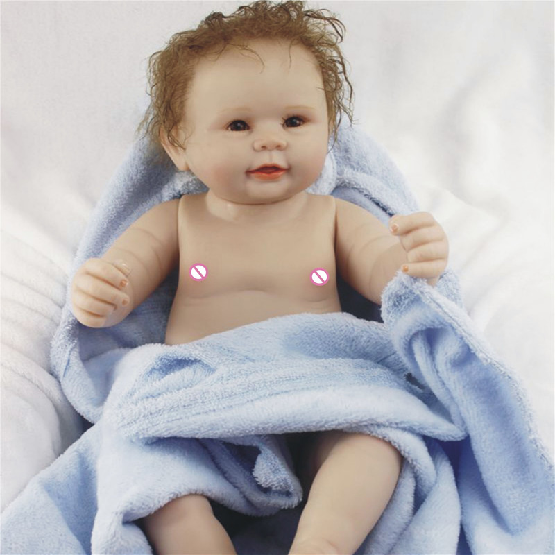 Dolls & Stuffed Toys Dolls Official Website 20inch 50cm Dollmai Reborn Silicone Fashion Lifelike Toddlers Doll Children Birthday Xmas Gift Play House Babies Dolls For Sale Complete In Specifications