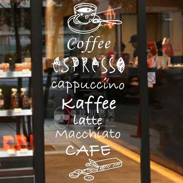 Aliexpresscom Buy Milk Tea Coffee Shop Cafes Ice Cream