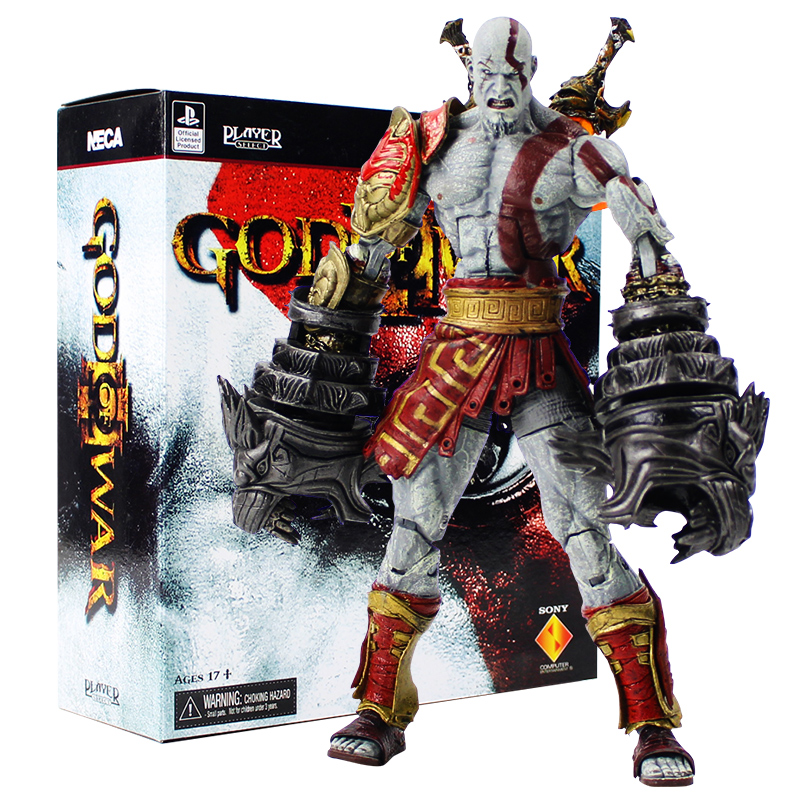 все цены на 19cm NECA God of War 3 Ghost of Sparta Kratos PVC Action Figure Collectible Model Toy онлайн