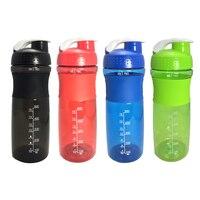 760ML sporcu shakerı Şişe Çırpma Topu Spor peynir altı suyu protein tozu Su Şişesi Spor Salonu BPA IÇERMEYEN Güçlü Sızdırmaz