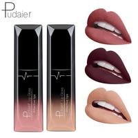 21 Color Brand Moisturizer Matte Liquid Lipstick Lip Gloss Waterproof Metal Color Makeup Lip Gloss Nude Matte Lipstick Lips