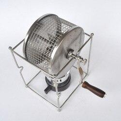Darmowa wysyłka maszyna do palenia kawy ze stali nierdzewnej pieczenia przyrząd do pieczenia DIY sprzęt|Roboty kuchenne|AGD -