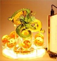 Dragon Ball Z Сон Гоку дух бомба настольная лампа Luminaria светодиодный Ночные огни номер настольные лампы украшений Diy кристалл мяч