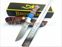 Hot Selling War shield jungle king hunting small Fixed tactical knives Three color stone Collect knife