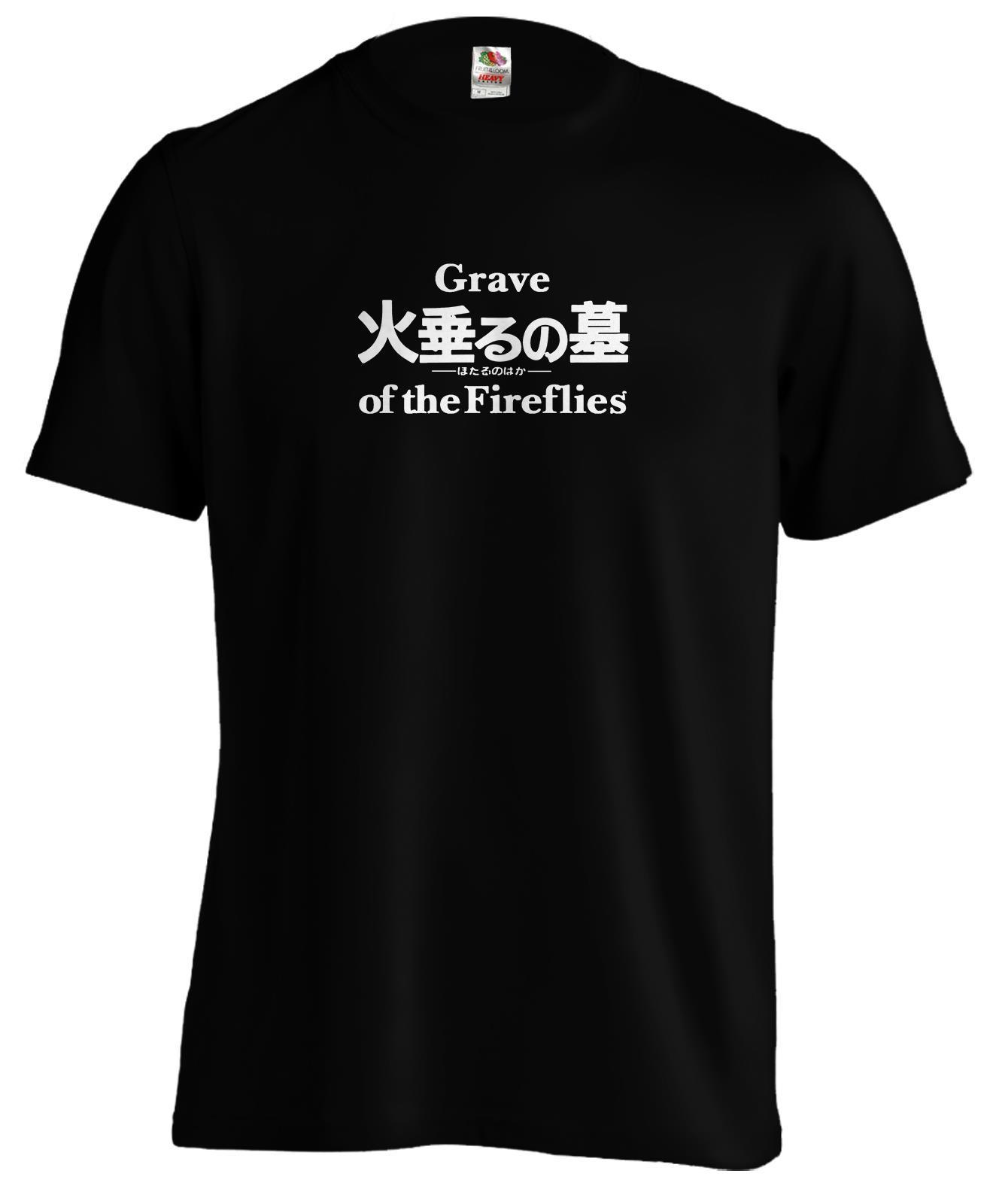 Grave of the Fireflies Ghibli Anime Manga T Shirt Tee New Shirts Funny Tops Unisex