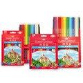 Классический масляный цветной карандаш FABER CASTELL  36/48/72 цветов  красная коробка  цветные карандаши для рисования  ручка в замке