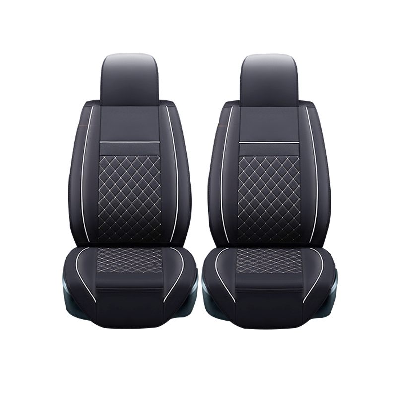 Leather car seat covers For Mitsubishi Lancer Outlander Pajero Eclipse Zinger Verada asx I200 car accessories styling universal pu leather car seat covers for toyota corolla camry rav4 auris prius yalis avensis suv auto accessories car sticks