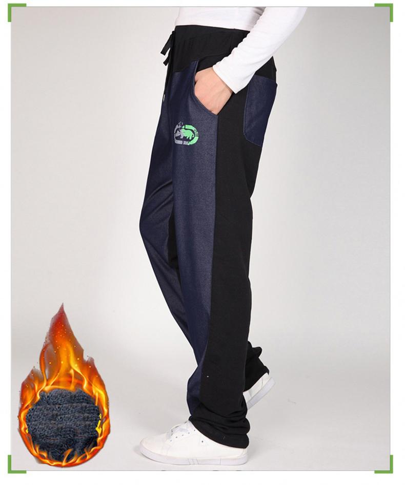 Warm winter pants men Joggers pants Hip Hop pants men clothes 18 Streetwear men's trousers large size XXXL 4XL 5XL 6XL 7XL 8XL 16