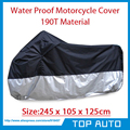 Large Size Motorcycle Cover Street Bikes Outdoor Indoor Protection Waterproof