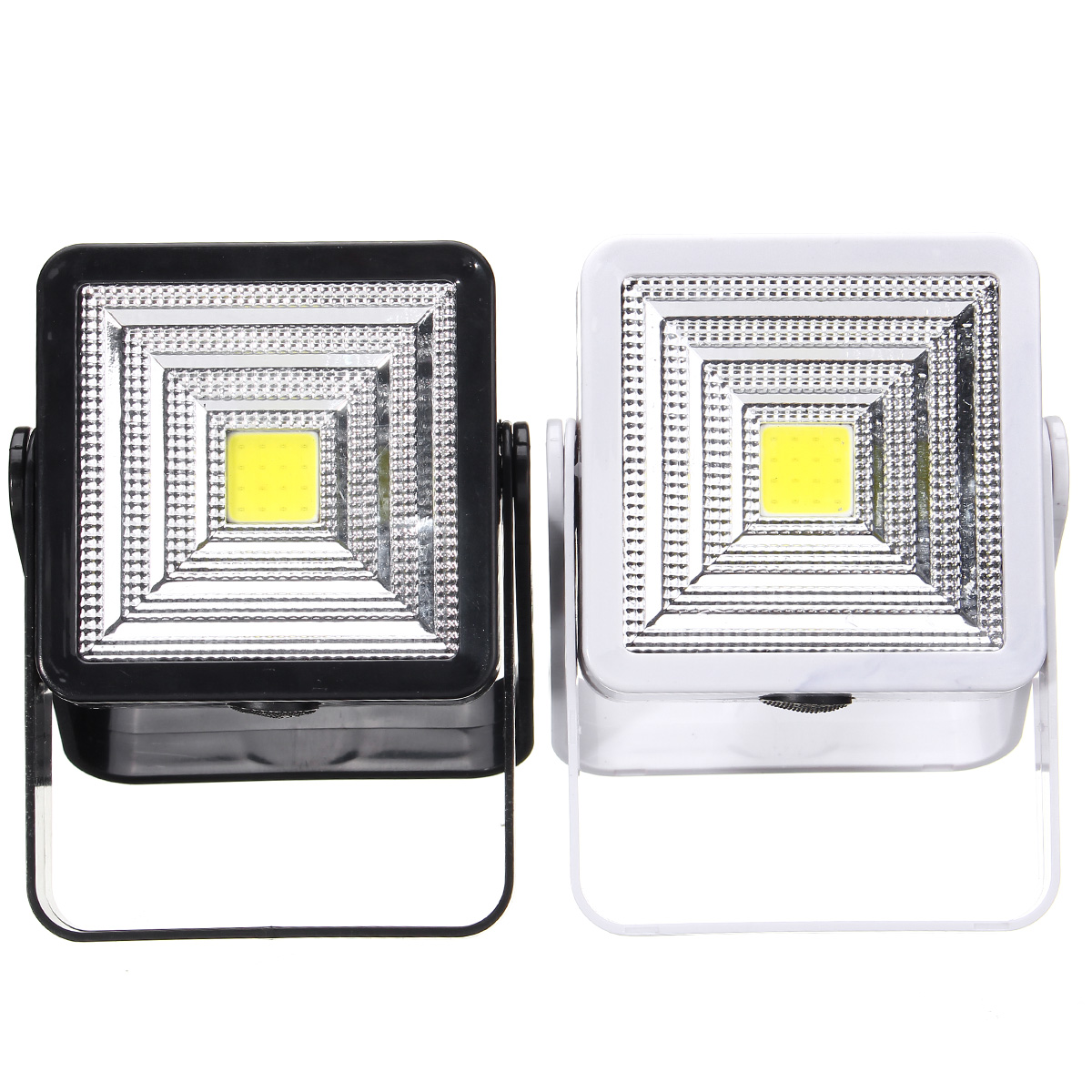 Portable Solar Powered LED 2W COB Rechargeable Bulb Light Outdoor Camping Yard Hiking Lamp Lantern Solar Powered LED