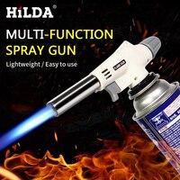 HILDA, газовый фонарь, пистолет, фонарь для приготовления пищи, пайка, Бутан, автозажигание, газовая горелка, зажигалка, нагрев, сварка, газовая ...