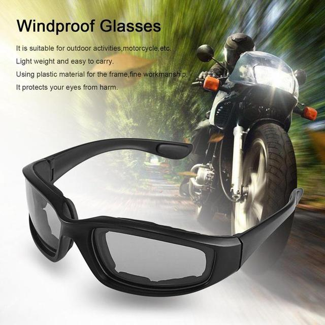 72a09d8584a 3 Colors Windproof Motorcycle Glasses Moto Eyes Army Sunglasses For Motorcycle  Riding Cycling Airsoft Protective Goggles-in Motorcycle Glasses from ...
