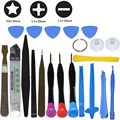 21pcs/lot Mobile Phone Repair Tools Kit Opening Spudger Pry Screwdriver Set Phillips Slotted 1.5 Pentalobe 0.8 for iPhone iPad