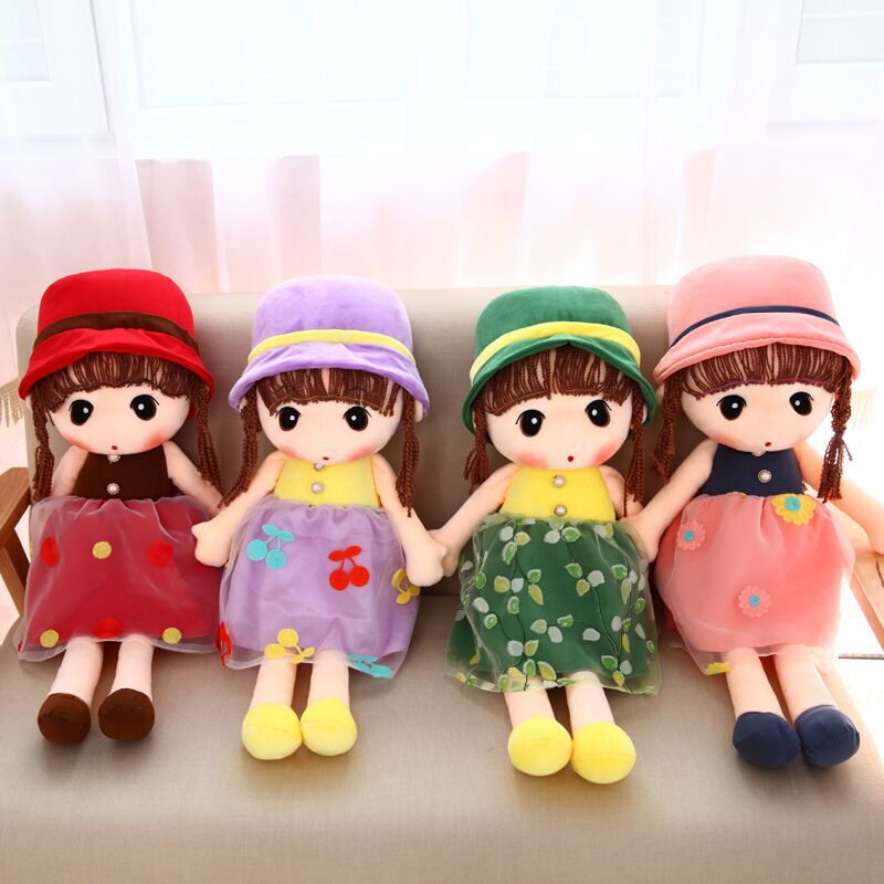 Little girl reborn doll 45cm mini princess wedding plush toy babies Novelty lovely Cartoon Cute Doll Kid Birthday Christmas gift