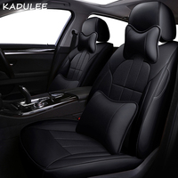 KADULEE leather car seat cover for Chevrolet Captiva spark Camaro Cruze Malibu Automobiles Seat Covers Interior Accessories