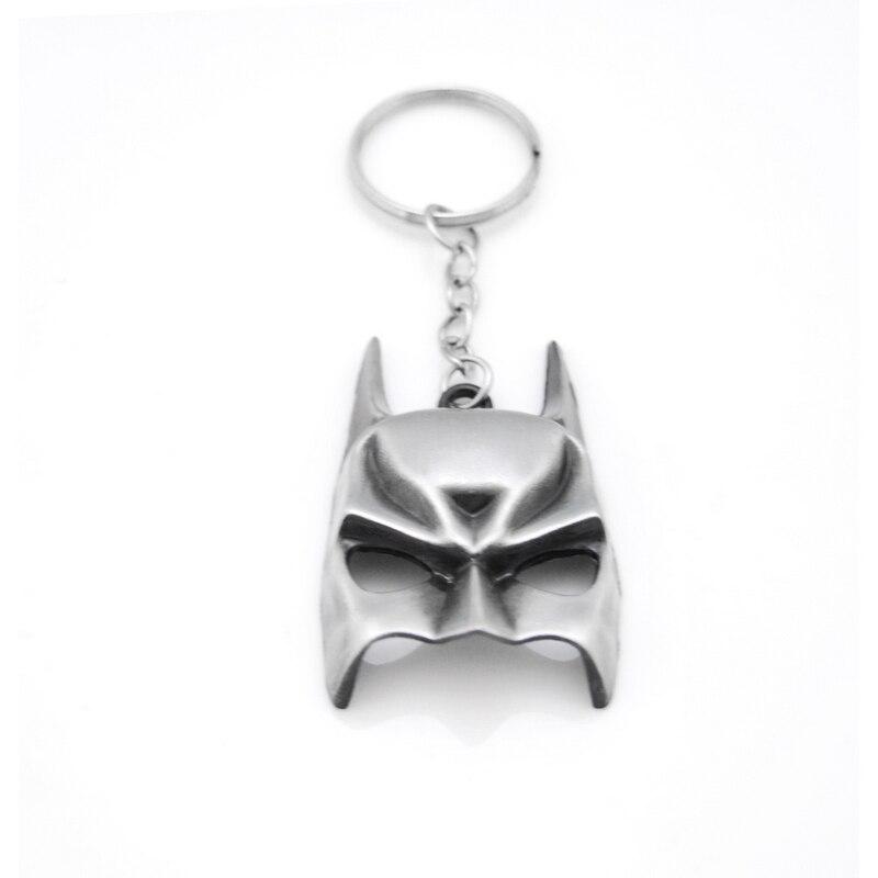Супергерой Euramerican Стиль Мстители серии moives тема маска Бэтмена брелок для ключей брелок держатель мужской подарок