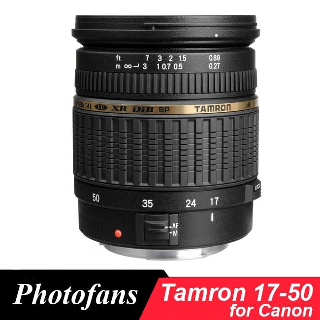 Tamron 17-50mm obiettivo Tamron SP AF 17-50 f/2.8 XR DI-II LD Asferico (SE) lenti per Canon 600D 700D 750D 760D 80D 60D 7D 1300D