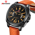 LONGBO New Brand Fashion Men Sports Watches Men's Quartz Hour Date Clock Man Leather Strap Military Army Waterproof Wrist watch
