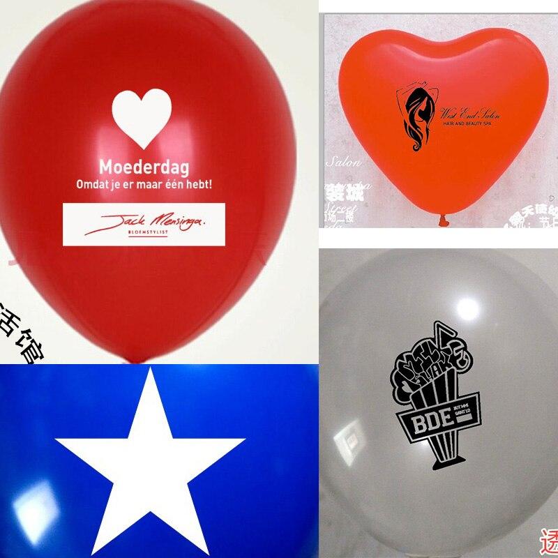 cores de Alta Qualidade balões balão personalizado impressão