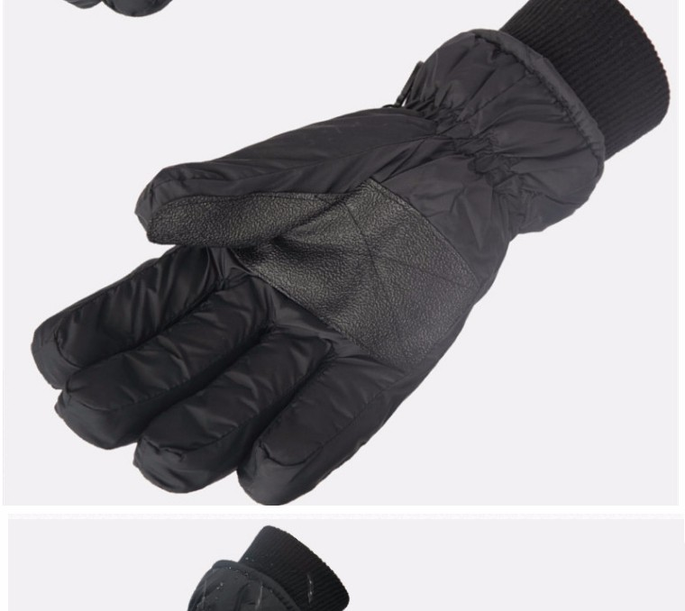 2017 Top Quality New Brand Men's Ski Gloves Snowboard Snowmobile Motorcycle Riding Winter Gloves Windproof Waterproof Snow Glove 5