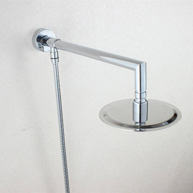 Online Shop 6 inch Round Rainfall Shower Head Extension with ...