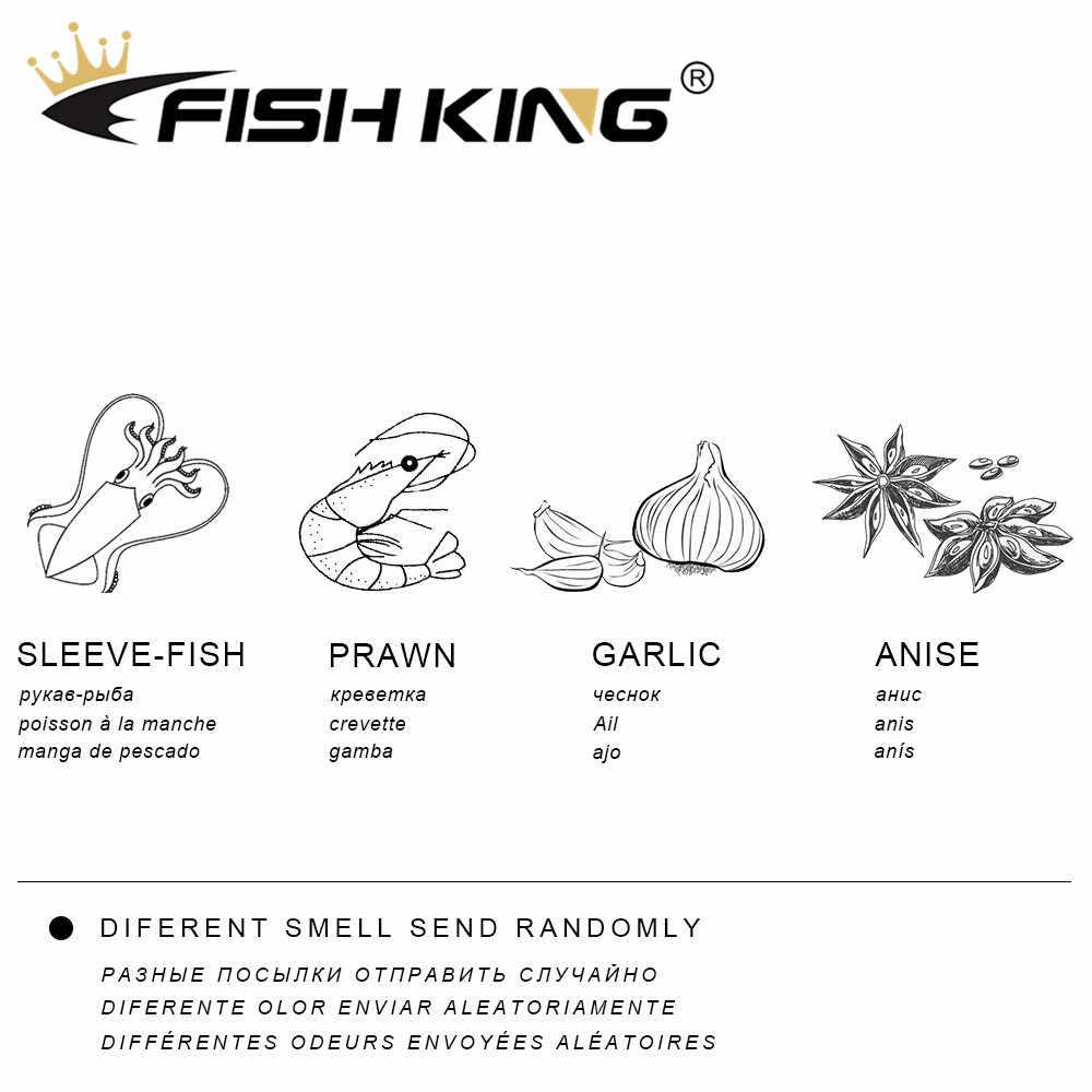 ปลา KING Soft Fishing Lure 90 มม.105 มม.เหยื่อซิลิโคน Wobbler เหยื่อประดิษฐ์ PIKE ตกปลา Lure ตกปลา