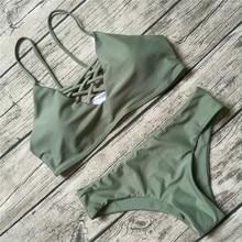 2017 Women Bikini Set Summer Swimwear Biquini Sexy Beach Swimsuit Bathing Suit Push up Brazilian Bikini Maillot De Bain Bikini