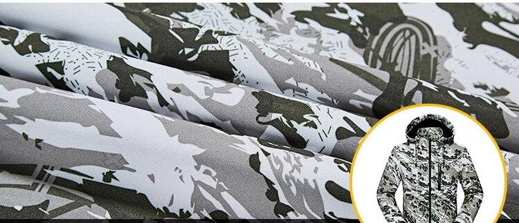 LoClimb Camuflagem dos homens Caminhadas Ao Ar