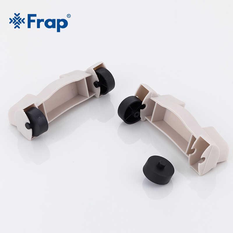 رف Frap متعدد الأغراض مزود بعجلات قابلة للإزالة رف الكراك رف تخزين الحمام رف تخزين متعدد الطبقات رف جانبي للثلاجة