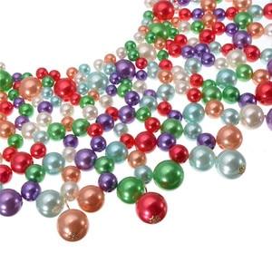 Image 4 - Collier épais pour femmes en 10 couleurs, collier et bavoir, ras du cou, fait à la main, bijou Maxi pour fête de mariage