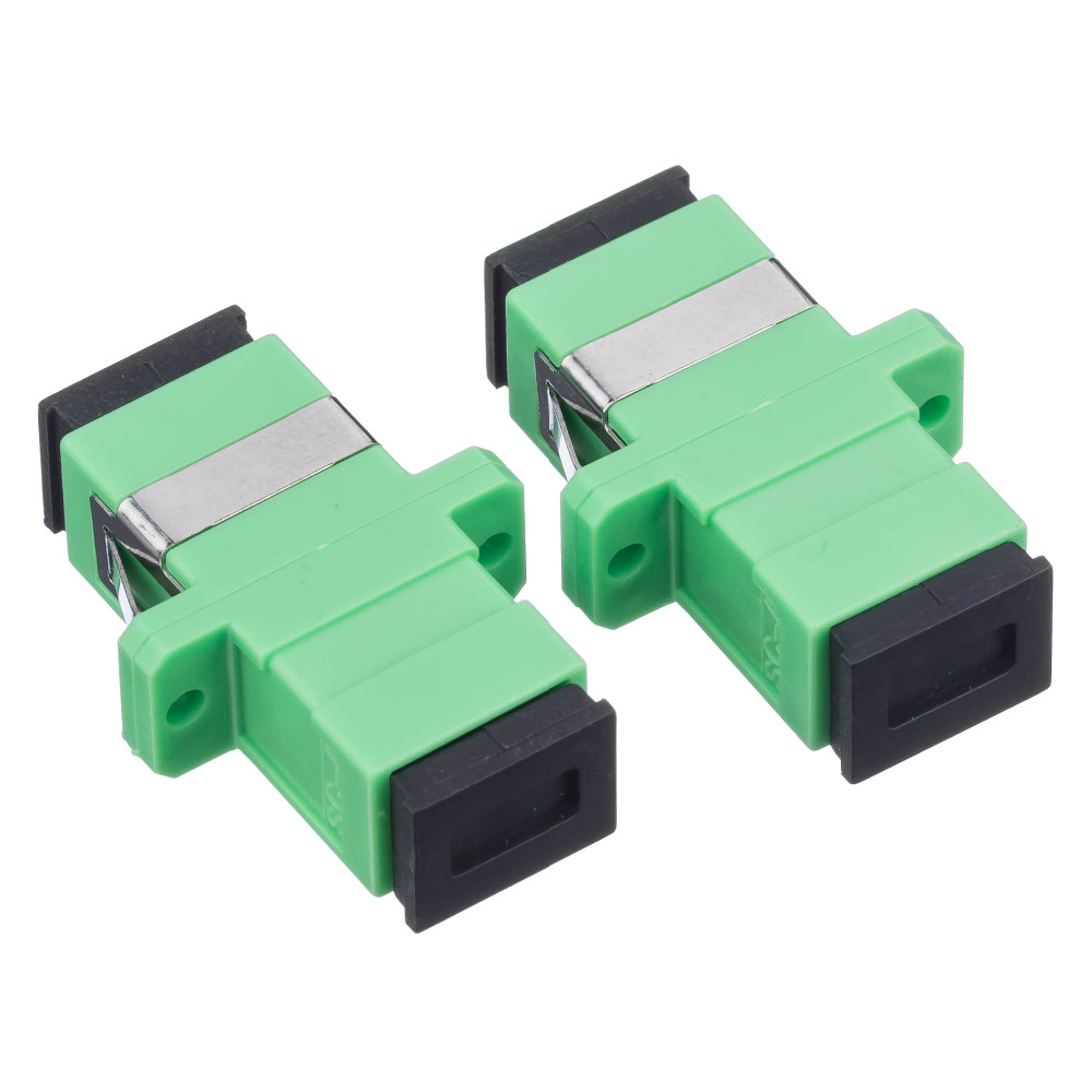 Free Shipping 300pcs New SC fiber optic adapter,SC flange coupler, SC/UPC adaptor